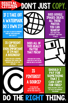 Don't just copy, do the right thing!