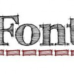 I'm a font snob…or why the details matter!