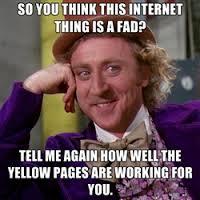 fad of internet