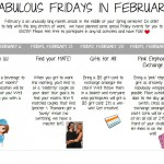 Love on your staff w/Fab Fridays in February