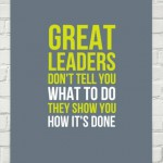What leadership lessons are you taking away?