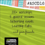 Can't get to #ASCD16 this year? Have no fear! #thefirstyear