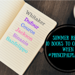 Summer reads: 10 books to consider when #principalplanning