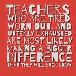 It's spring…how can you support teachers when they're tired?