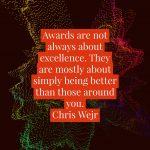 When awards go wrong…