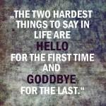 smile goodbye