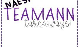 #NAESP18 Teamann takeaways, ideas I'm using THIS year!